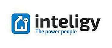 Logo der inteligy - The power people